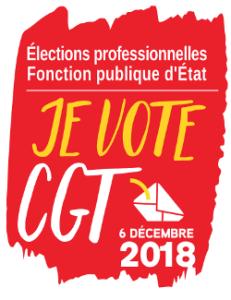 CGT • Élections professionnelles 2018